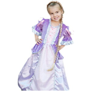 3977add05dbc5 ハロウィン 衣装 子供 ラプンツェル ドレス コスチューム 女の子 115-130cm