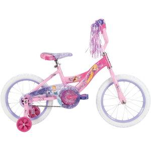 キッズ ジュニア用 自転車 補助輪付 16インチ ディズニー プリンセス Huffy