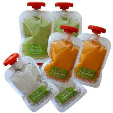 infantino スクイーズ パウチ 50枚 手作り 保存袋ジュースパックパウチ