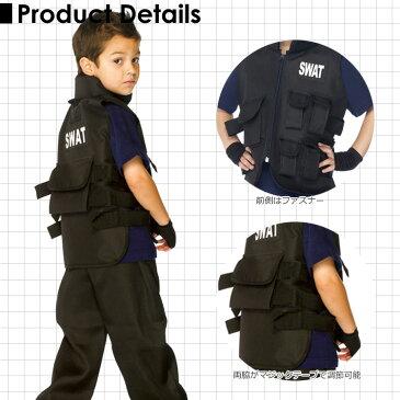スワット ポリス 警察官 ハロウィン コスチューム 男の子 105-140cm 衣装 子供 Leg Avenue C46111