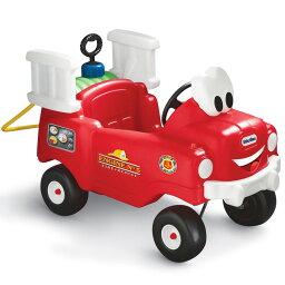 リトルタイクス スプレー&レスキュー ホース&水タンク付き 乗用玩具 消防車 1歳半から Little tikes 616129