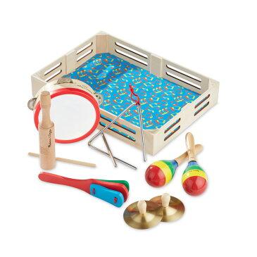 Melissa&Doug 知育玩具 ミュージック バンド 楽器セット BOX付き メリッサ&ダグ