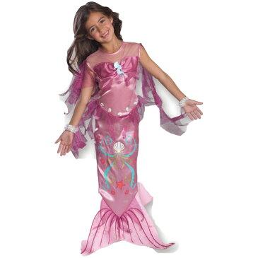 ルービーズ 人魚 マジカル マーメイド コスチューム ピンク 女の子 90-150cm 882720 ハロウィン 衣装 子供