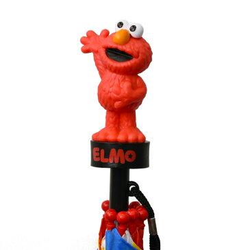 ABG 傘 キッズ 子供用 40cm セサミストリート エルモ クッキーモンスター