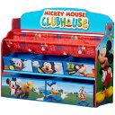 【P3倍・スーパーセール】デルタ ディズニー ミッキーマウス デラックス 本棚 おもちゃ箱 3-6歳 Delta