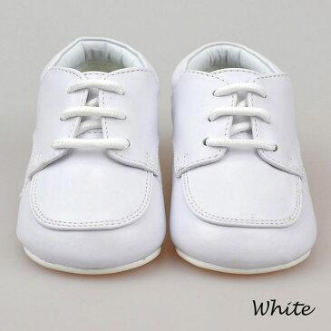 フォーマル靴 男の子 11.5-15.5cm ホワイト ブラック シューズ