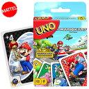 送料無料/ UNO マリオカート ウノ カードゲーム おもちゃ 新品 キャラクター ライセンス パーティゲーム マテル