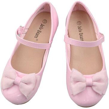 フォーマル 靴 女の子 18-23.5cm ピンク キッズ シューズ