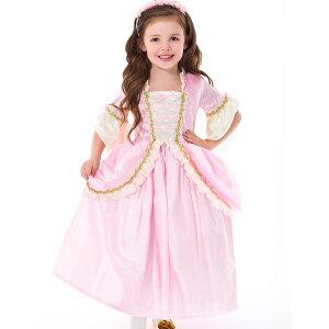 f6b3513c2a974 ハロウィン 衣装 子供 プリンセス ドレス コスチューム ピンク 女の子 100-125cm