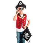 パイレーツ に大変身! 子供用 コスチューム なりきり 5点セット 100-115cm (26019) 海賊 キッズ 子ども 男の子