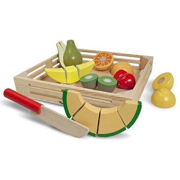 【6月20日〜25日セール】メリッサ&ダグ カッティング フルーツ 3歳から おままごと 木のおもちゃ Melissa&Doug 4021