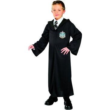 【ママ割エントリーでP5】 ハロウィン 衣装 子供 ルービーズ ハリーポッター スリザリン ローブ コスチューム 男の子 女の子 105-150cm 884254