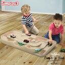 【決算セール半額商品】シムプレイ3 トラックテーブル プレイテーブル おもちゃ 遊び 電車 レール ロータイプ simplay3