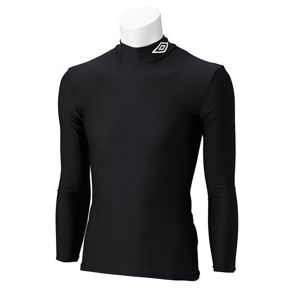 UMBRO アンブロ UAS9300J ジュニア ロング コンプレッションシャツ 長袖 サッカー インナーウェア ブラック