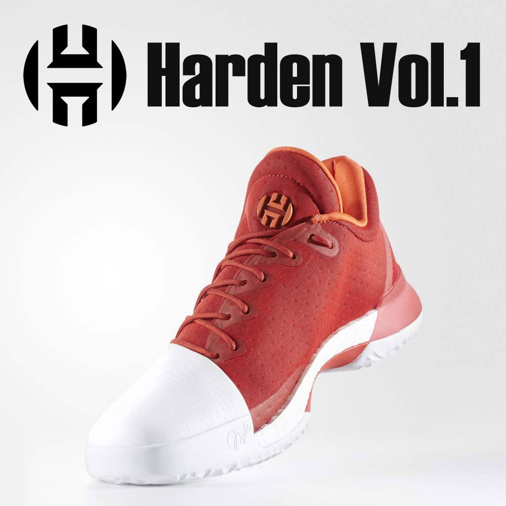 adidas(アディダス) BW0547 バスケットボールシューズ Harden Vol.1 ジェームス・ハーデン メンズ バッシュ