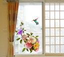 デザイン ガラスフィルム 【 半透明 タイプG-181】 目隠しシート 曇りガラス 飛散防止 プライバシー保護 シール すりガラス 壁