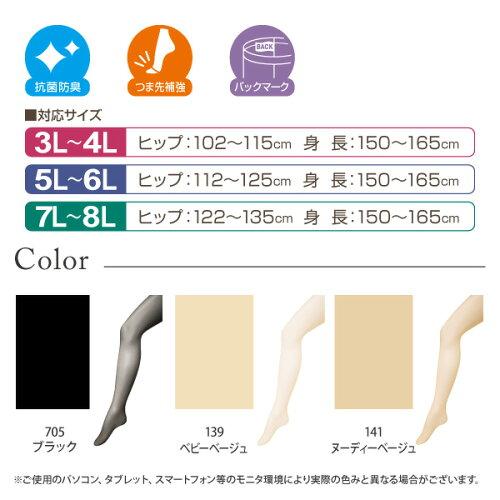 カラーとそれぞれサイズ詳細