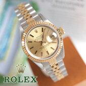 ロレックス69173デイトジャストX番1991年製レディース腕時計自動巻ROLEX1年保証OH済美品