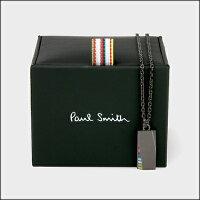 ポールスミスポール・スミス正規品ポールスミスポール・スミスマルチカラートライアングルネックレスブラック