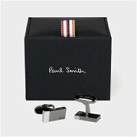 ポールスミスポール・スミス正規品ポールスミスポール・スミスアーティストストライプスピンカフスブラック