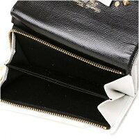サマンサタバササマンサタバサ正規品サマンサタバサプチチョイスバイカラーリュシー折財布ブラック