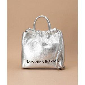 Саманта Тхаваса Сумка на плечо Журнал Серебро на шнуровке Саманта Таваса