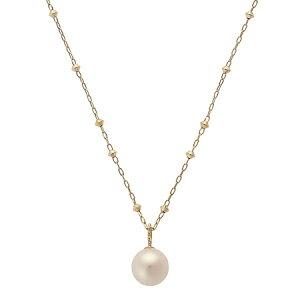 Samantha Thavasa Necklace Pearl Necklace K10 옐로우 사만다 티아라