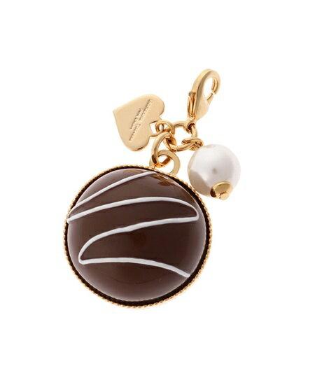 サマンサタバサ チャーム チョコレートコレクション ファスナーチャーム トリュフチョコレート ゴールド SamanthaThavasaPetitChoice