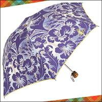 ヴィヴィアンウエストウッドヴィヴィアンウエストウッド正規品VivienneWestwoodヴィヴィアンウエストウッドフラワーミニパラソル折りたたみ傘日傘ネイビー