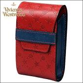 正規品VivienneWestwoodヴィヴィアンウエストウッドモノグラムシガレットケースレッド