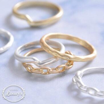 指輪 リング マットリング マット 細め シンプル 重ねづけ ピンキーリング 華奢 おしゃれ かわいい 4号 5号 9号 10号 ゴールド シルバー 誕生日 プレゼント ギフト レディース Luxury's ラグリーズ j3s