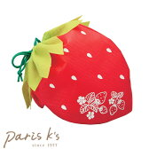 ラッピング 袋 ラッピング用品 巾着 単品 1枚 バラ売り 不織布 業務用 リボン いちご イチゴ ラッピング袋 プレゼント用 梱包