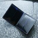◆二つ折り財布 薄型 名入れ加工可◆製品にしてから職人が手磨きでグラデ...