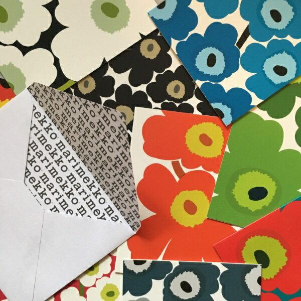 紙製品・封筒, グリーティング・カード marimekko unikko ( Maija Isola