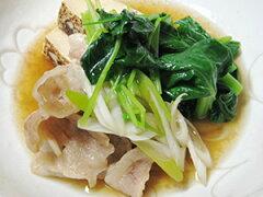 さっぱりだしの上品な味わい肉豆腐