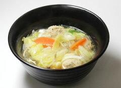 具材の味が染み出たコク旨スープ♪春雨と肉団子のスープ