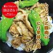 ししとうと豚肉丼の具(*^_^*)