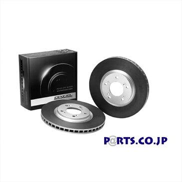 スバル インプレッサ ブレーキローター リア ブレーキディスクローター HDタイプ GC8 インプレッサクーペWRX STI (TYPE R (D型) 96/9〜97/8) 【送料無料】【DIXCEL】ポイント5倍【ディクセル】