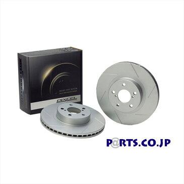 スマート スマートフォーフォー ブレーキローター リア ブレーキディスクローター SDタイプ 04〜07 MCC スマート フォーフォー 1.5 BRABUS (454034) 送料無料 DIXCEL ディクセル