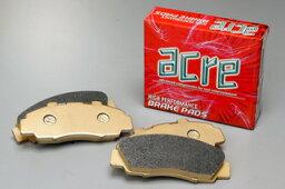 ブレーキ パッド 送料無料 ACRE(アクレ)ブレーキ パッド ダストレス・リアル フロント用 90.10〜99.6 VSY10 ADバン/ADワゴン ABS無