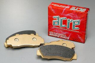 ブレーキ パッド 送料無料 ACRE(アクレ)ブレーキ パッド ダストレス・リアル フロント用 89.8〜93.8 LH102V ハイエースバン
