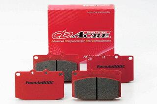 ブレーキ パッド 送料無料 ACRE(アクレ)ブレーキ パッド フォーミュラ800C フロント用 95.9〜99.8 EJ4 CR-X/CR-Xデルソル ABS付車