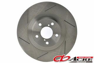 ブレーキ ローター 【送料無料】ACRE(アクレ)スリットローター フロント用 96.09〜01.12 WGNC34 ステージア 4WD NA