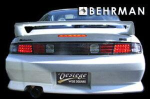 BEHRMAN LEDテールandガーニッシュ レッド/クリスタル S14 シルビア