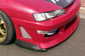 Feizdesgin フェィズデザイン S14シルビア 後期 GTカナード カーボン (Feizフロントバンパー用)