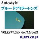 Autostyle ブルー ドアミラーレンズ BSMモデル VOLKSWAGEN フ...