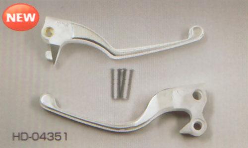 キジマ ハーレーXL07-用 スリムレバー07年対応(アルミダイカスト) HD-04351