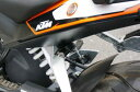 【○在庫あり→3月3日出荷】キジマ KTM DUKE125('12-)/200('13Y-)用 ヘルメットロック KTM-05000