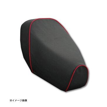 アッズ(AZZU) [3RY]ジョグ(JOG)用 国産カスタムシートカバー [黒カバー・赤パイピング/張替タイプ] AZ-YCH2012-C10P40-1