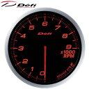 Defi-Link ADVANCE BF 60φ赤レッドタコメーター 0〜9000RPM